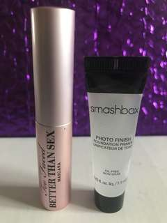 Too Faced And Smashbox