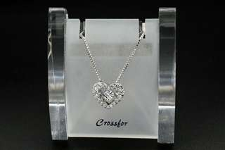 Crossfor New York Dancing Stone Dancing Tenderness NYP-540 Silver Necklace