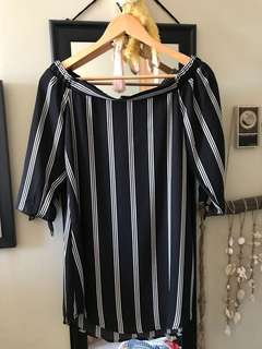 Off the shoulder silky dress