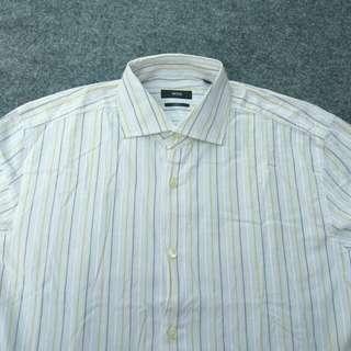 Kemeja HUGO BOSS Slimfit Striped Shirt Long Sleeve