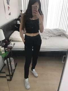 BNWT Nike Dri-Fit Black Joggers size xsmall