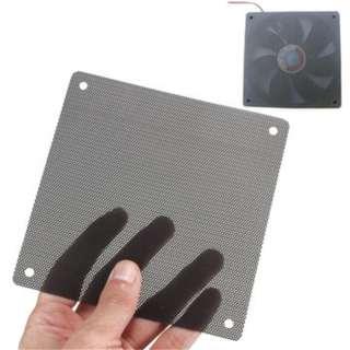 10X Black 140mm PVC Computer PC Cooler Fan Case Cover Dust Filter Mesh Cuttable Dust-proof Net