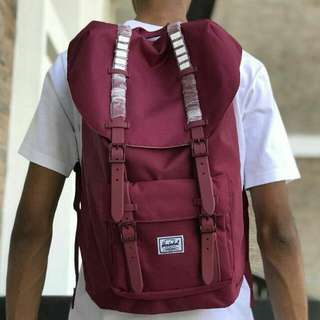 🆕 Herschel Backpack, ready stock!! (unisex)