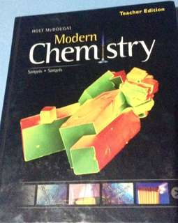 Modern Chemistry - Teacher Edition 2012