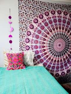 Ombre Mandala Tapestry