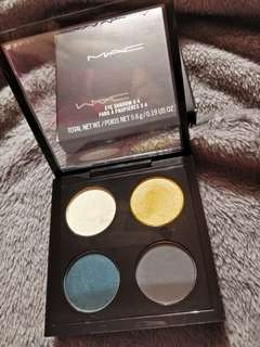 MAC eyeshadow x4