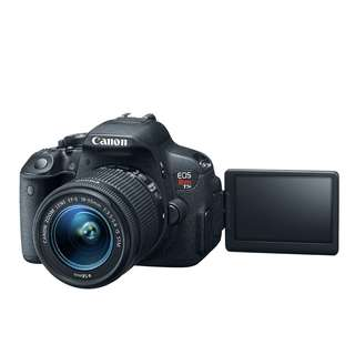 Canon t5i with kit lens