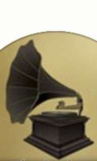 Gramophone of d hmv of my new pcd player