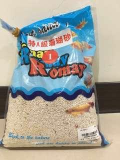 🚚 特A級珊瑚砂 1號 2.6公斤  水族 造景 底砂