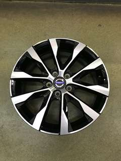 "17""5x108 volvo original new car takeoff rim"
