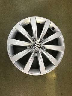 "17"" 5x112 vw sharan original new car takeoff wheel"