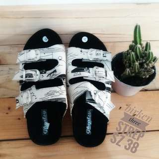 Sandal 3strip