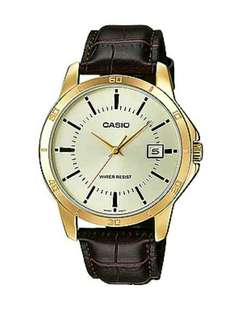 Authentic casio watch for men with 1 year warranty MTP-V004GL-7AUDF