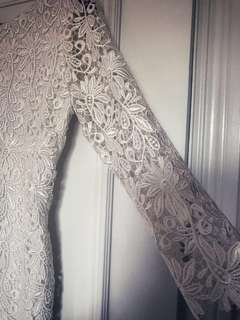 Brand New Off-White Lace Dress
