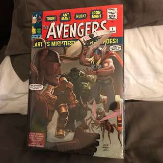 Marvel Comics Omnibus The Avengers Volume 1 HC #1-30 Rare OOP Alternate Cover Sealed