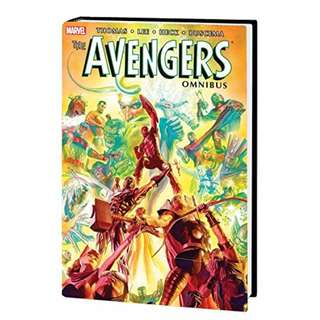 Marvel Comics Omnibus The Avengers Volume 2 HC #31-58 Annual #1-2 Rare OOP Alex Ross Cover Sealed