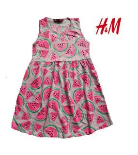 H&M dress for kids 2to4 yrs old