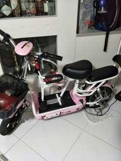 Hello Kitty Ebike E Scooter for sale