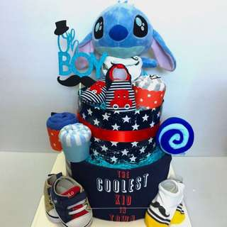 Baby Diaper Cake - Customisation