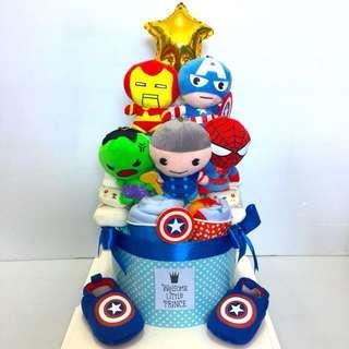 Large Baby Diapers Cake customization (pricing varies)