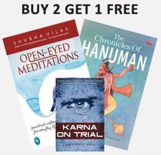 SUMMER BOOKSALE: Buy Two Get One Free!