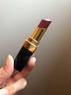 Authentic red Chanel lipstick