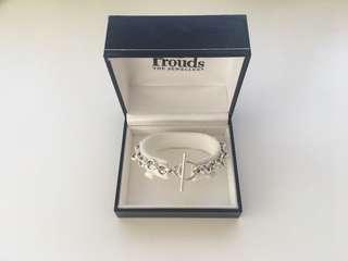 Prouds Sterling Silver Belcher Bracelet
