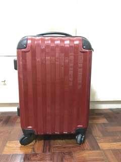 Red luggage Bag Japan