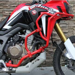AltRider Singapore Honda CRF1000L Africa Twin Lower Upper Crash Bars Red ! Ready Stock ! Promo ! Do Not PM ! Kindly Call Us ! Kindly Follow Us !