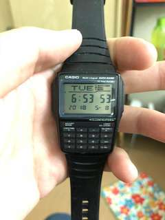 Casio Data Bank DBC 32. (vintage retro)