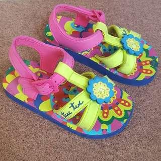 Tuc Tuc Flowery Sandal