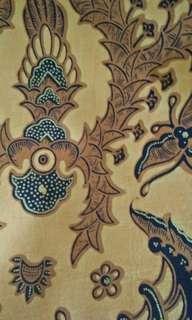Kain batik cap solo,  panjang 2 meter