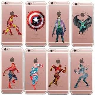Avengers Case Transparant
