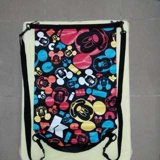 Disney Mickey Waterproof Dry Bags 廸士尼黑色米奇防水袋