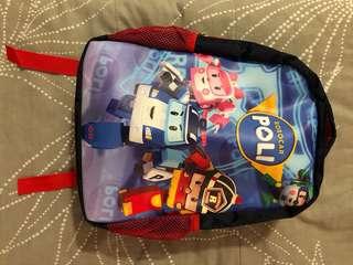 New Roborcar Poli School Bag