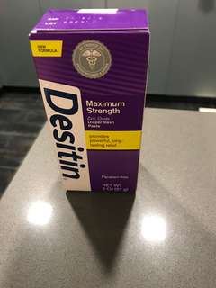 Brand new desitin cream 2oz