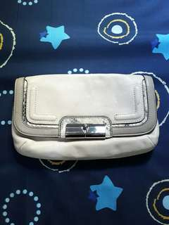 Coach Leather Hand Pouch Wallet Authentic