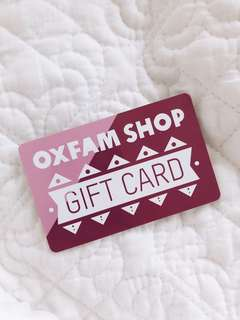 Oxfam $100 Gift Card