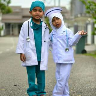 Doctor Costume For Kid
