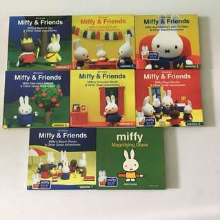 $4 for 8 pc Miffy & Friends series vcds