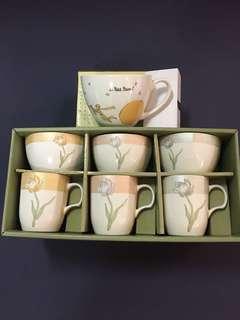 🚚 琉金系列磁器咖啡杯☕️組
