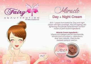 Fairy beauty Potion Miracle day&night cream