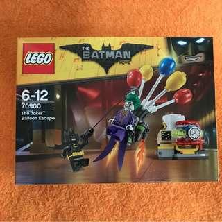 LEGO The Joker Balloon Escape 70900