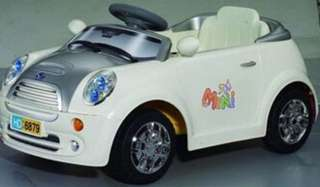 Mini Cooper baby car