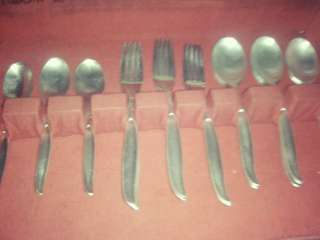silver spoons etc. all in