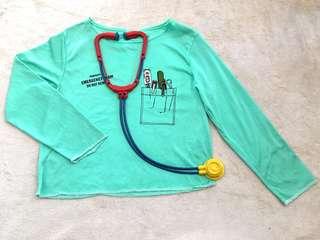 Emergency Room Doctor Costume for Kids (6-7yo)