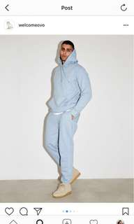 Ovo baby blue sweatpants