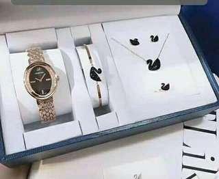 Swarovski Watch Set