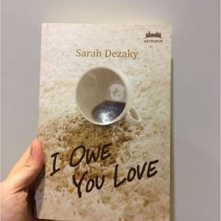 Novel I Owe You Love - Sarah Dezaky