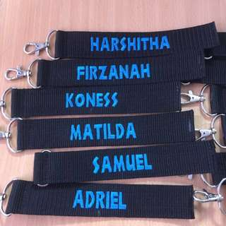 Embroidery Name Tag